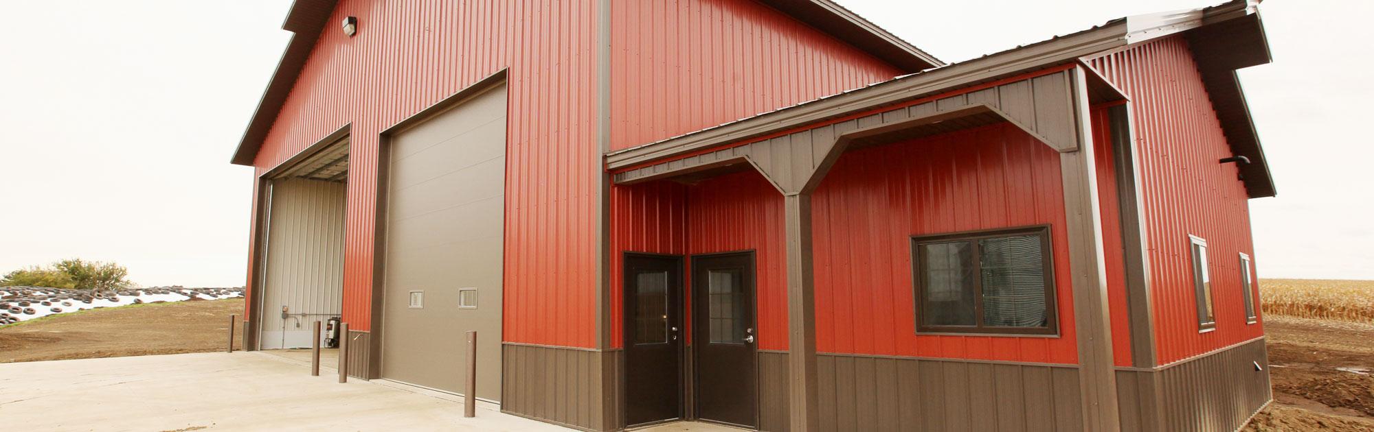 Hoppe Construction Pole Barns Panel Buildings Hog